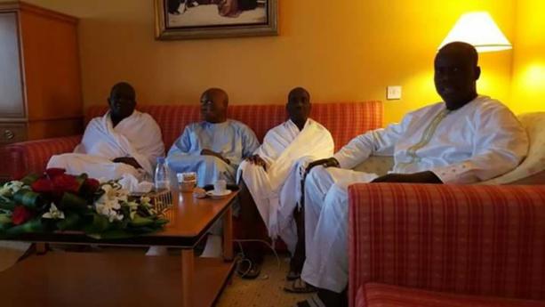 Photos exclusives: Abdoulaye Wade reçoit Malick Gakou, Oumar Sarr et Mamadou Diop Decroix