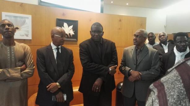 Paris : Images de la levée de corps de la mère du ministre Abdoulaye Daouda Diallo