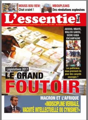 L'essentiel Mag N°2: Législatives 2017 Le Grand Foutoir