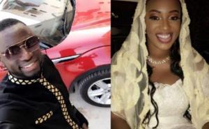Cheikhou Kouyaté succombe au charme de Zahra Mbow