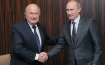 Poutine invite Blatter au mondial en Russie