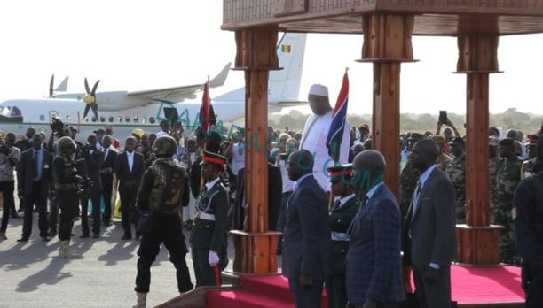 Retour d'Adama Barrow en fanfare : Gambia has decided