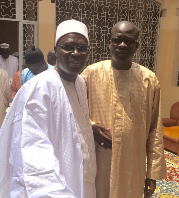 M. Diop est un des soutiens de Khalifa Sall dans son combat au sein du PS