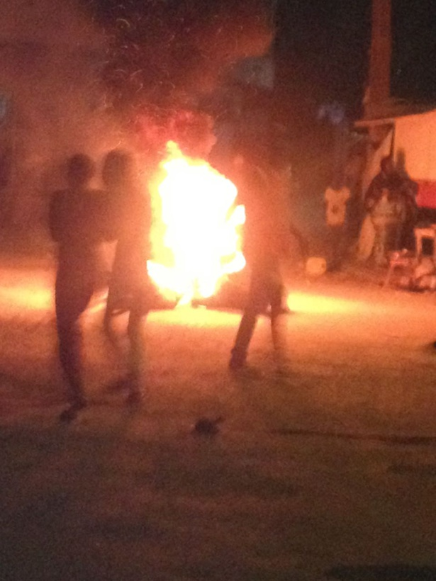 Exclusivité-Photos Vidéos: attaque de la maison familiale de Khalifa Sall à Grand-Yoff
