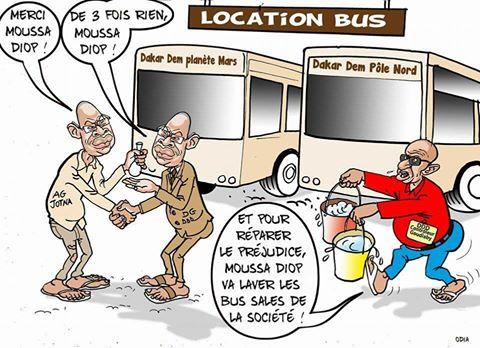 Moussa Diop ou le don d'ubiquité