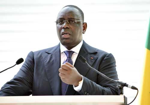 Macky Sall : «Le Sénégal consacre 64% de ses ressources intérieures dans le renforcement des infrastructures»