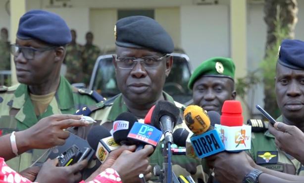 """Le Général Cheikh Gueye promet de """"nettoyer la forêt de Bayotte"""""""