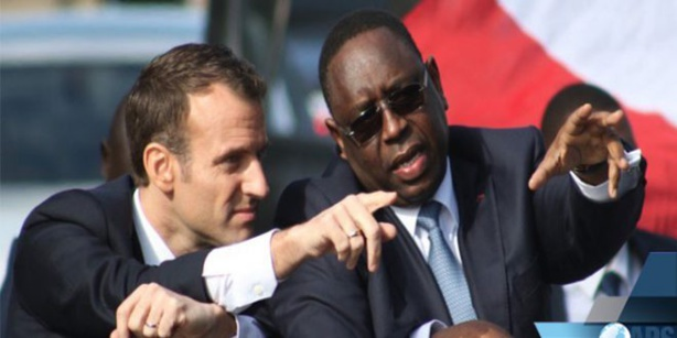 """Macky Sall à Macron : """"Vous avez apportè une réponse concrète à l'avancée de la mer à Saint-Louis"""""""