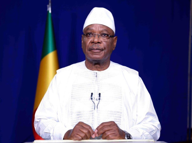 Mali: le président Keïta officiellement candidat à sa réélection