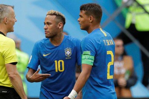 Neymar a insulté Thiago Silva