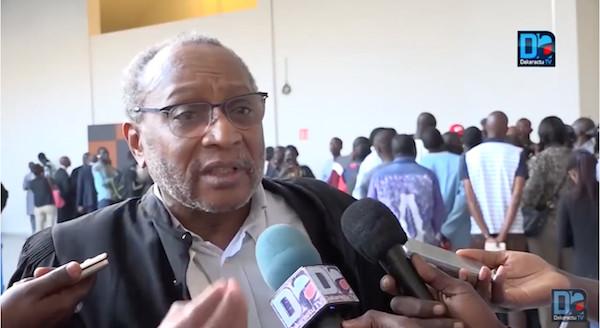 Me Yérim Thiam insulte l'avocat français Jackubowicz Alain, Ousseynou Fall réplique