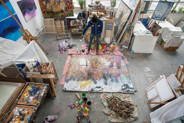 Lune Ndiaye le  «Picasso» africain des temps modernes