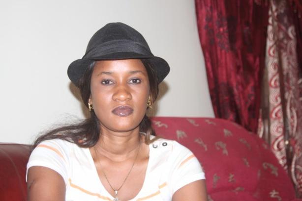 "Amina Sakho, présidente du ""Mouvement Karim Président"""