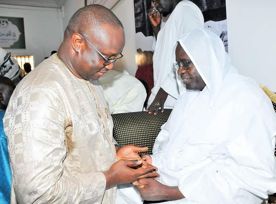 Le directeur général de la Senelec Makhtar Cissé à Touba