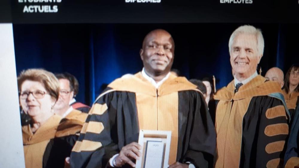 Le professeur Sénégalais Ndiaga Loum honoré au Canada