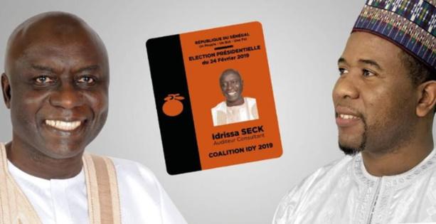 Bougane Guèye Dany vote Idy