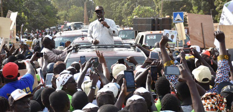 Macky Sall à Goudomp: «Nous avons plus de 7000 milliards de FCfa pour construire le Sénégal»