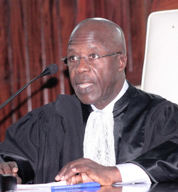 Discours intégral de Pape Oumar Sakho, président diu Conseil constitutionnel
