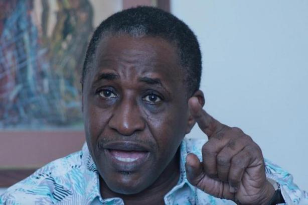 Adama Gaye en cours de déferrement