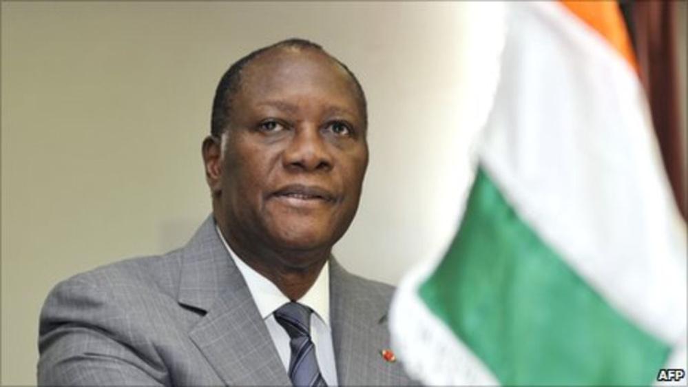 Alassane Ouattara, le président de la Côte d'Ivoire, renonce au 3ème mandat