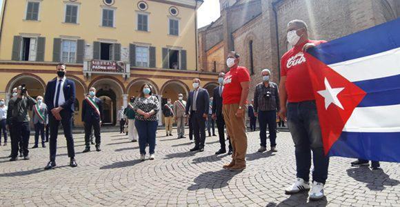 L'Italie rend hommage à la brigade médicale cubaine