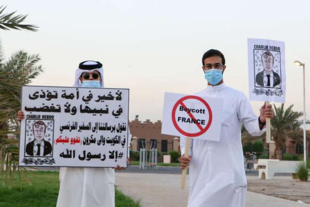 Caricatures de Mahomet : plusieurs pays du Moyen-Orient appellent au boycott des produits français