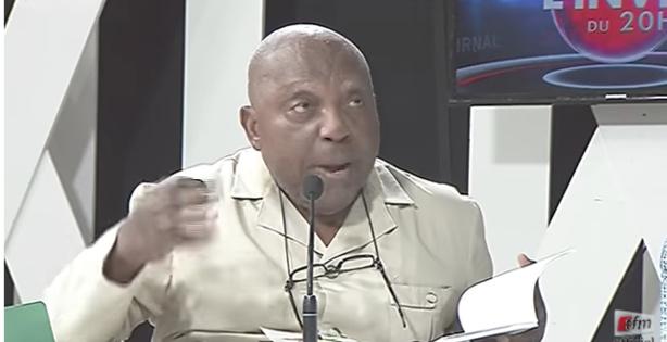 Le Pr Nzouankeu déchire le projet de loi relatif à l'état d'urgence et à l'état de siège