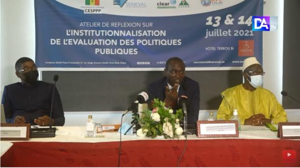 Vers une institutionnalisation de l'évaluation des politiques publiques (SENEVAL)