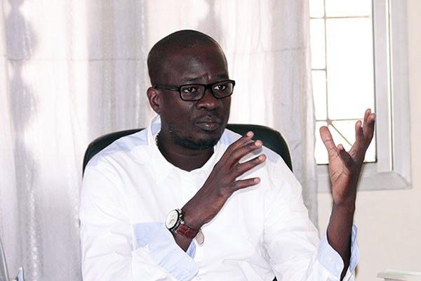Le maire de la Patte d'Oie Banda Diop