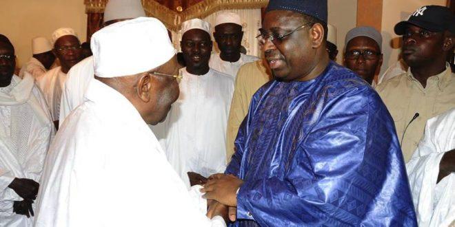 Al Amine et le président Sall