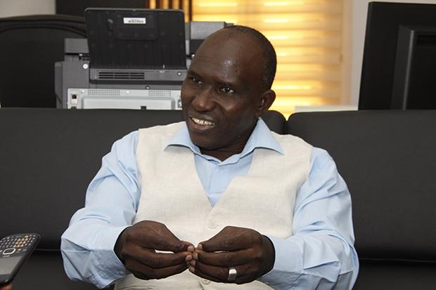 M. Sanoussi Diakité, Directeur Général de l'Office National de la Formation Professionnelle (ONFP)