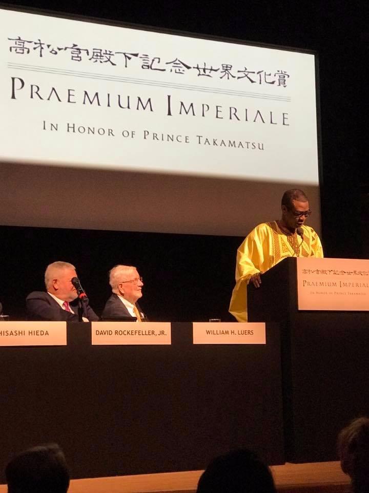 Youssou ndour laur at du prix japonais praemium imperiale for Praemium imperiale
