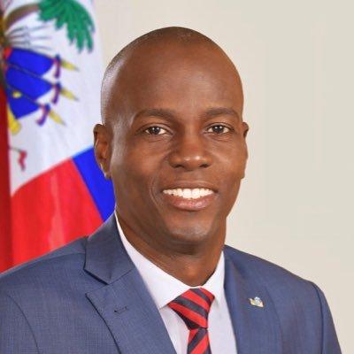 Jovenel Moïse, président haïtien