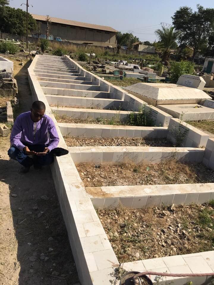 Le journaliste Barka Ba rend hommage aux Diambars tombés en Casamance