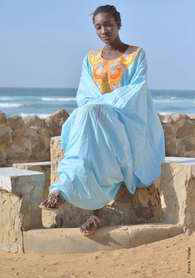 Adja Diallo, la sirène  du fleuve de la ville de Mame Mindiss