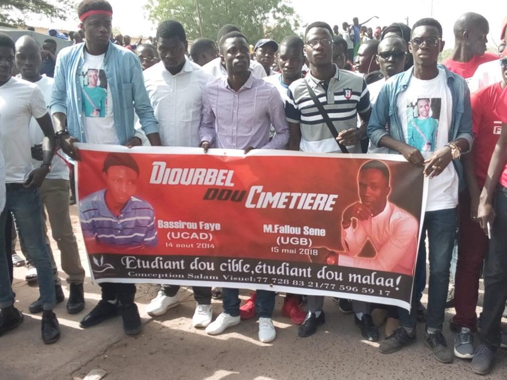 «Diourbel Dou Cimetière» : le coup de gueule des étudiants