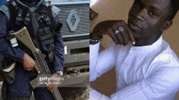 Le tueur de Fallou Sène : le Chef de l'Unité des gendarmes déployés à l'UGB, selon Libération