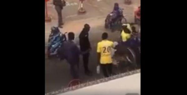L'Asp, qui a battu la femme handicapée, arrêté