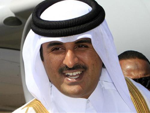 Sheikh Tamim, Emir du Qatar