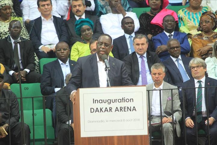 Inauguration de Dakar Aréna : Macky Sall annonce la construction d'un stade Olympique de football