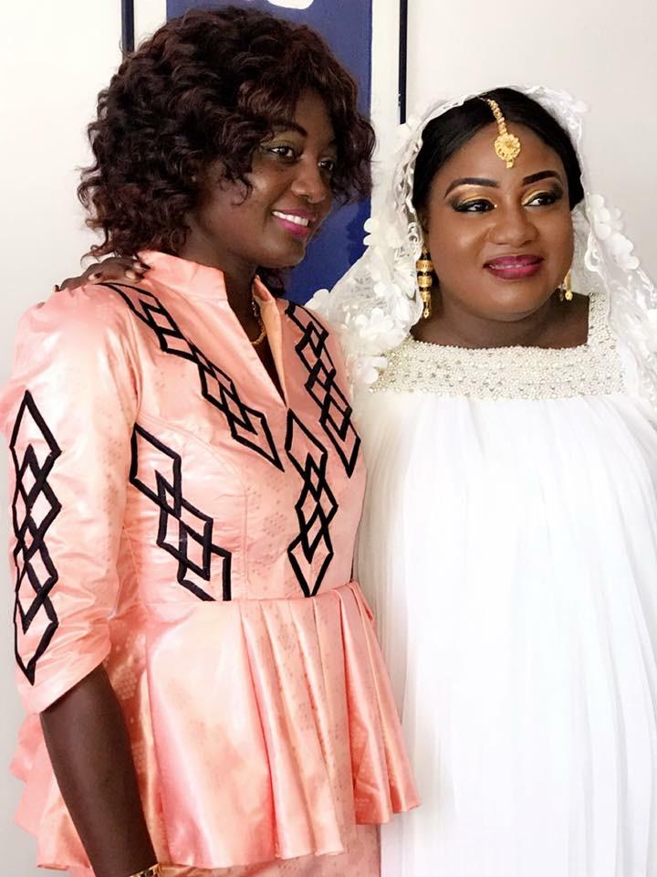 Les images du baptême du fils d'Aïssatou Diop Fall