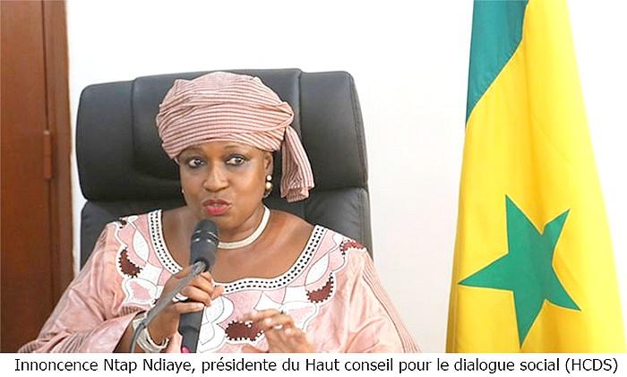 """Innocence Ntap Ndiaye : """"Le président Macky Sall sera élu dès le premier tour au soir du 24 février"""""""