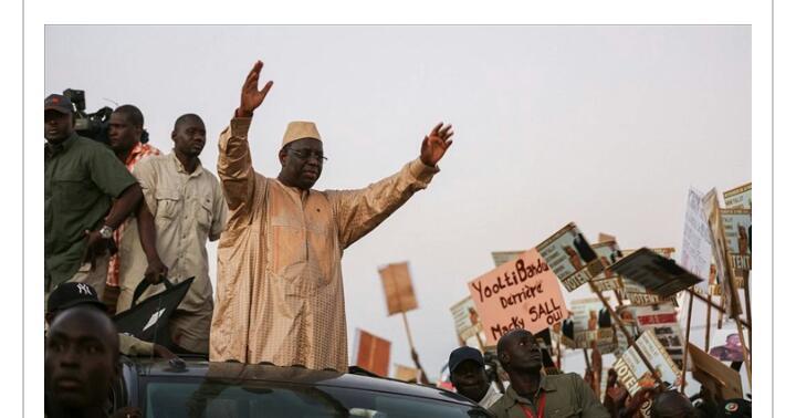 Tambacounda : Macky Sall s'engage à rendre prioritaire la réhabilitation du chemin de fer reliant Dakar à Bamako