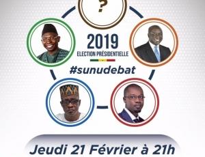 Les quatre candidats de l'opposition débattront le 21 février à 21h à la 2STV