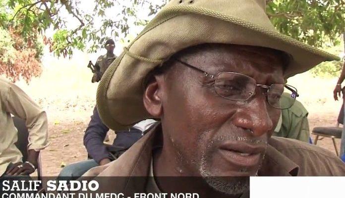 Salif Sadio déroule son plan de conquête de la Casamance