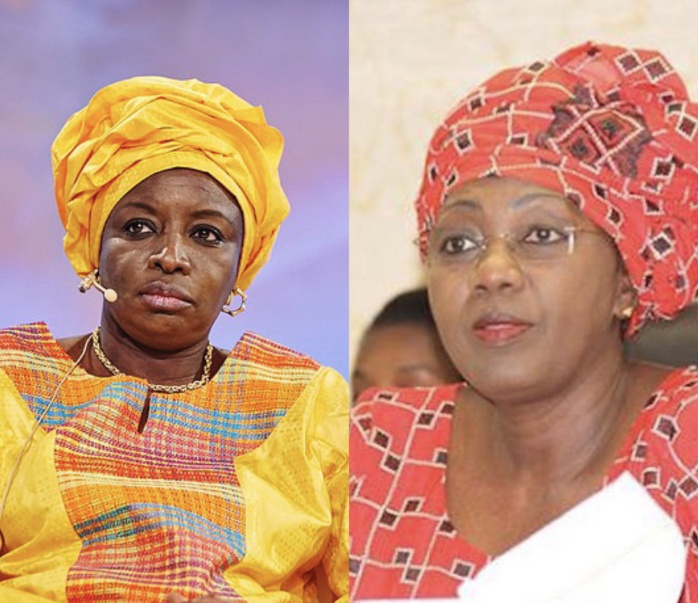 Macky limoge Aminata Tall et intronise Aminata Touré