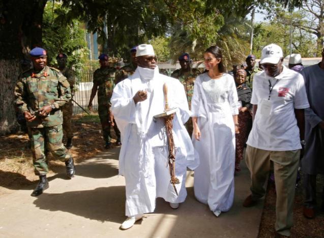 """Yahya Jammeh m'a violée en 2015"""