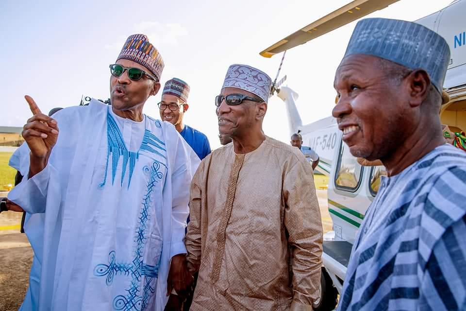 Le Président Condé invité de marque de Buhari pour la Tabaski