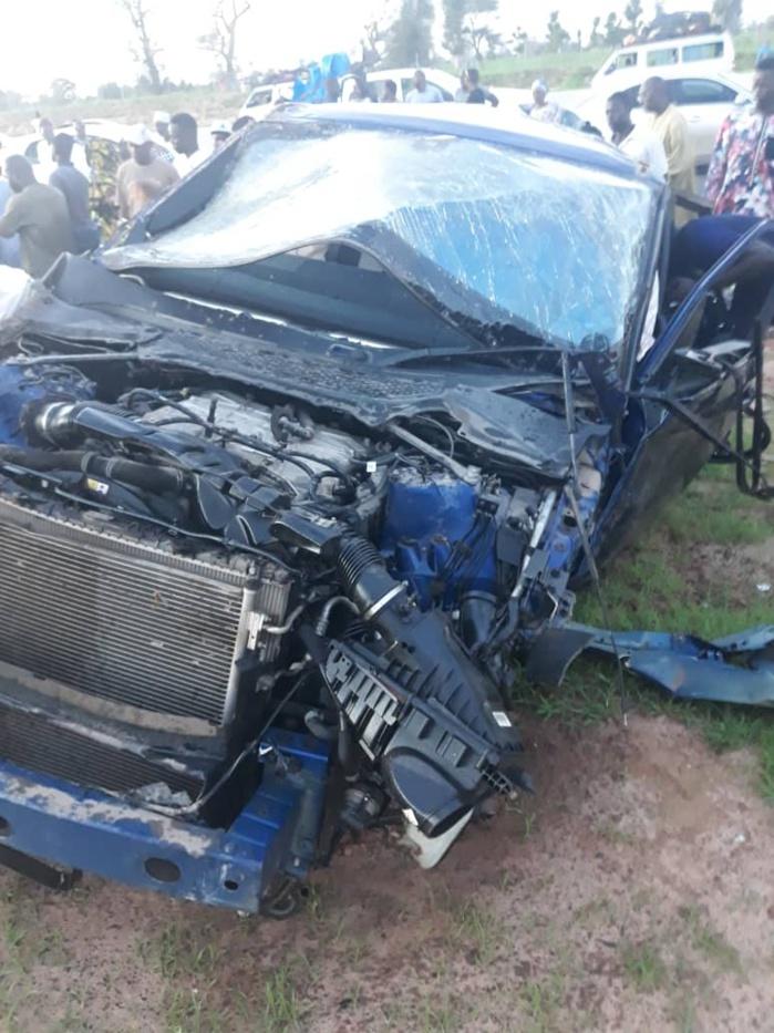 Cheikh Amar victime d'un accident sur Ila Touba