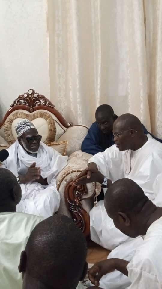 Khalifa Ababacar Sall à Touba : «Nous  rendons grâce à Serigne Touba pour tout ce qu'il a fait pour l'Islam»